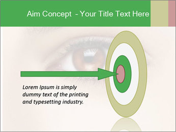 Female Eye PowerPoint Template - Slide 83