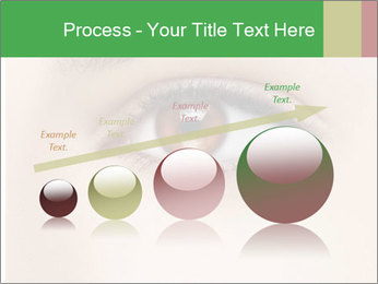 Female Eye PowerPoint Template - Slide 87