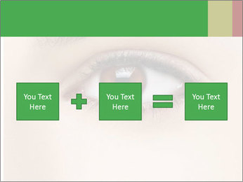 Female Eye PowerPoint Template - Slide 95