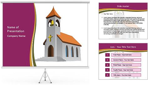Church Vector PowerPoint Template