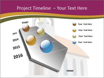 Church Vector PowerPoint Templates - Slide 26