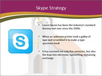 Church Vector PowerPoint Templates - Slide 8