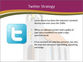 Church Vector PowerPoint Templates - Slide 9