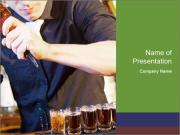 Bar And Alcohol PowerPoint Template