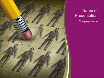 Downsizing Concept PowerPoint Template