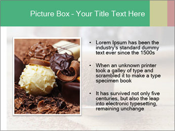 Chocolate Trufflels PowerPoint Templates - Slide 13