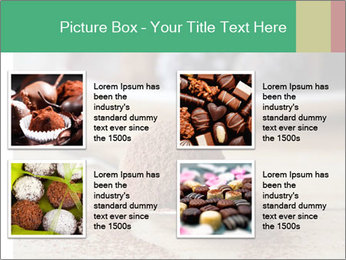 Chocolate Trufflels PowerPoint Templates - Slide 14
