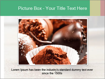 Chocolate Trufflels PowerPoint Templates - Slide 15