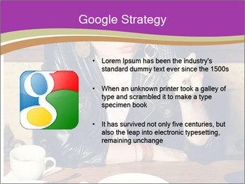 Woman Eats Dessert PowerPoint Template - Slide 10