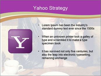 Woman Eats Dessert PowerPoint Template - Slide 11