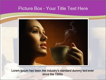 Woman Eats Dessert PowerPoint Template - Slide 16