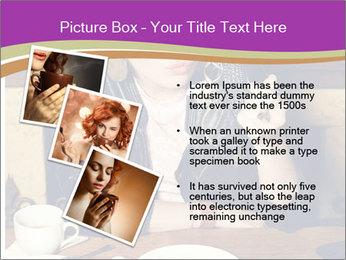 Woman Eats Dessert PowerPoint Template - Slide 17