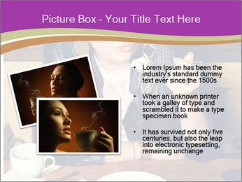 Woman Eats Dessert PowerPoint Template - Slide 20