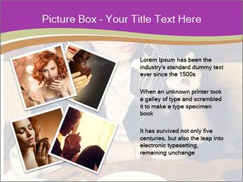 Woman Eats Dessert PowerPoint Template - Slide 23