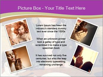 Woman Eats Dessert PowerPoint Template - Slide 24