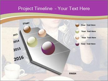 Woman Eats Dessert PowerPoint Template - Slide 26