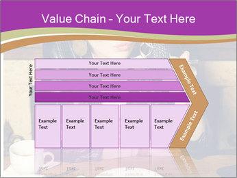 Woman Eats Dessert PowerPoint Template - Slide 27