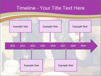 Woman Eats Dessert PowerPoint Template - Slide 28