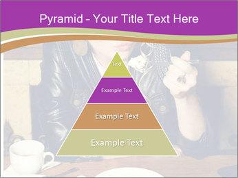 Woman Eats Dessert PowerPoint Template - Slide 30