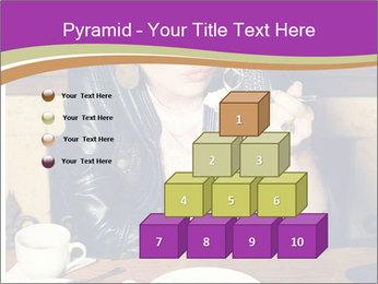 Woman Eats Dessert PowerPoint Template - Slide 31