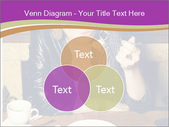Woman Eats Dessert PowerPoint Template - Slide 33