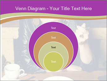 Woman Eats Dessert PowerPoint Template - Slide 34