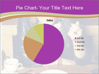 Woman Eats Dessert PowerPoint Template - Slide 36