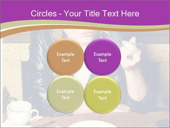 Woman Eats Dessert PowerPoint Template - Slide 38