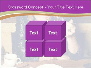 Woman Eats Dessert PowerPoint Template - Slide 39