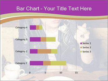 Woman Eats Dessert PowerPoint Template - Slide 52