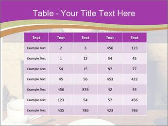 Woman Eats Dessert PowerPoint Template - Slide 55