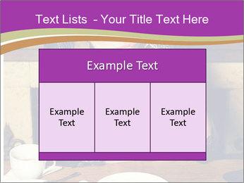 Woman Eats Dessert PowerPoint Template - Slide 59