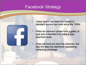 Woman Eats Dessert PowerPoint Template - Slide 6