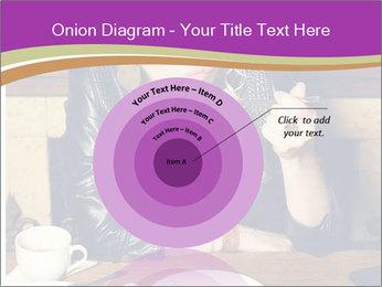 Woman Eats Dessert PowerPoint Template - Slide 61