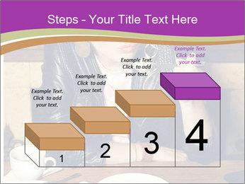 Woman Eats Dessert PowerPoint Template - Slide 64