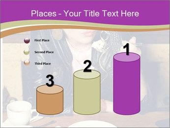 Woman Eats Dessert PowerPoint Template - Slide 65
