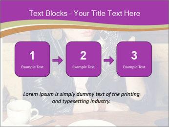 Woman Eats Dessert PowerPoint Template - Slide 71
