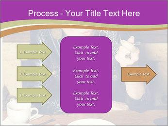 Woman Eats Dessert PowerPoint Template - Slide 85