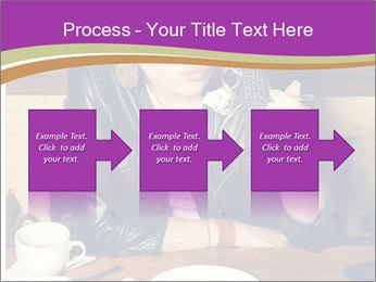 Woman Eats Dessert PowerPoint Template - Slide 88
