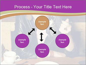 Woman Eats Dessert PowerPoint Template - Slide 91