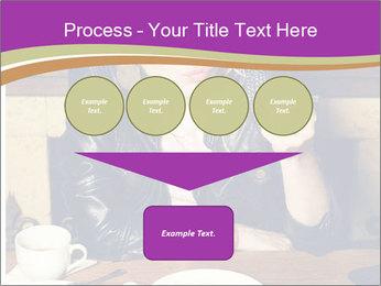 Woman Eats Dessert PowerPoint Template - Slide 93