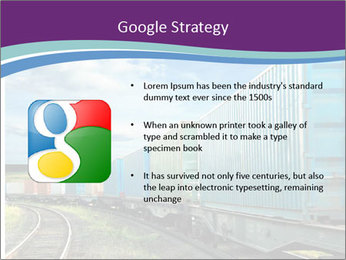 Loaded Locomotive PowerPoint Templates - Slide 10