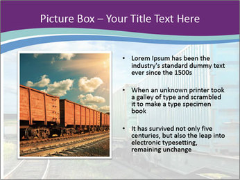Loaded Locomotive PowerPoint Templates - Slide 13