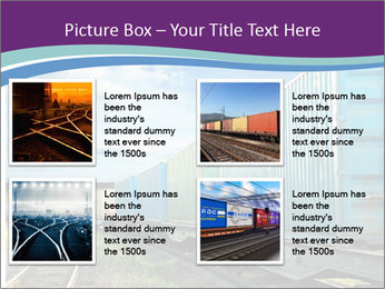 Loaded Locomotive PowerPoint Templates - Slide 14