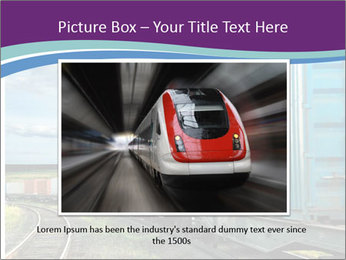 Loaded Locomotive PowerPoint Templates - Slide 15