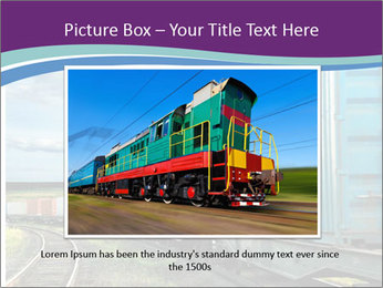 Loaded Locomotive PowerPoint Templates - Slide 16