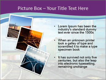 Loaded Locomotive PowerPoint Templates - Slide 17