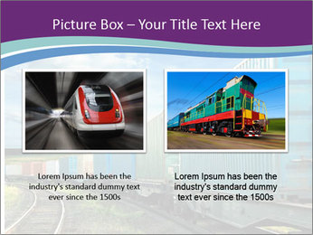 Loaded Locomotive PowerPoint Templates - Slide 18