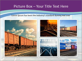 Loaded Locomotive PowerPoint Templates - Slide 19