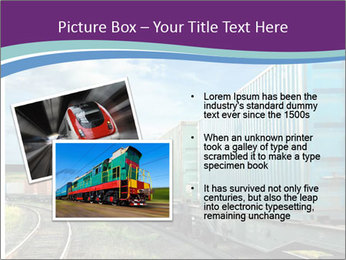 Loaded Locomotive PowerPoint Templates - Slide 20